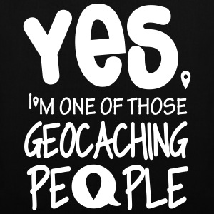 Yes. I'm one of those geocaching people Bags & Backpacks - Tote Bag