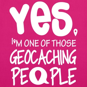 Yes. I'm one of those geocaching people Borse & zaini - Borsa ecologica in tessuto