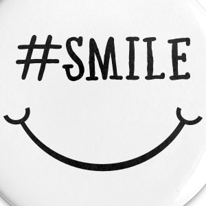 Smile Hashtag Buttons & badges - Buttons/Badges lille, 25 mm