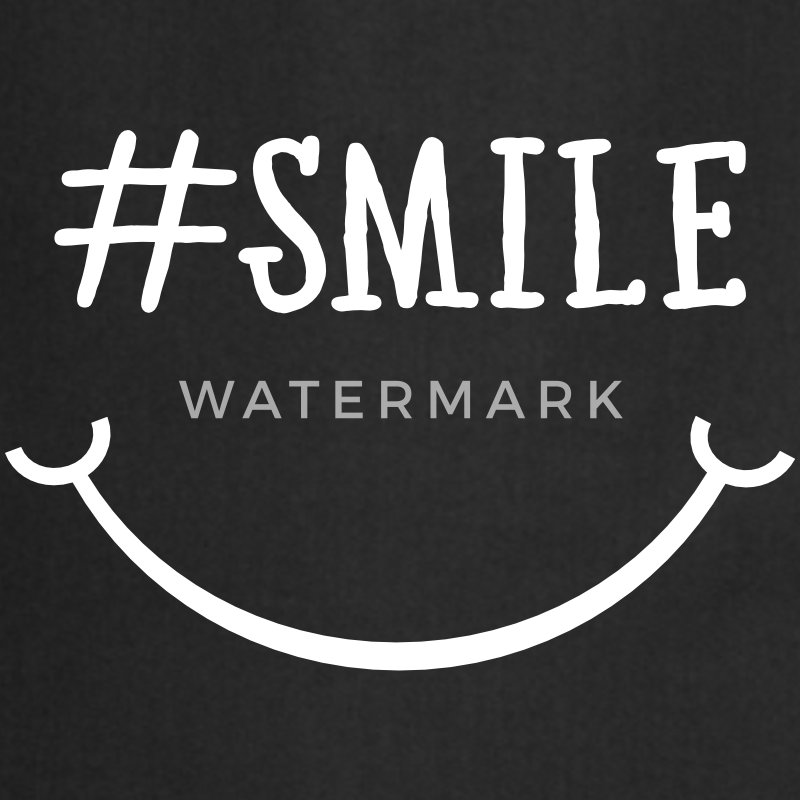 Smile Hashtag  Aprons - Cooking Apron