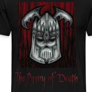 The Army of Death T-Shirts - Maglietta Premium da uomo