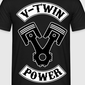 v-twin power 11 Tee shirts - T-shirt Homme