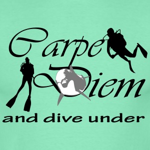 carpe diem and dive under T-Shirts - Männer T-Shirt