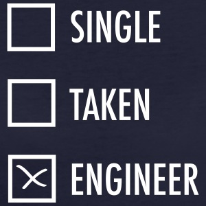Single - Taken - Engineer T-shirts - Vrouwen Bio-T-shirt