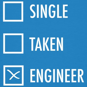 Single - Taken - Engineer T-shirts - Mannen Bio-T-shirt