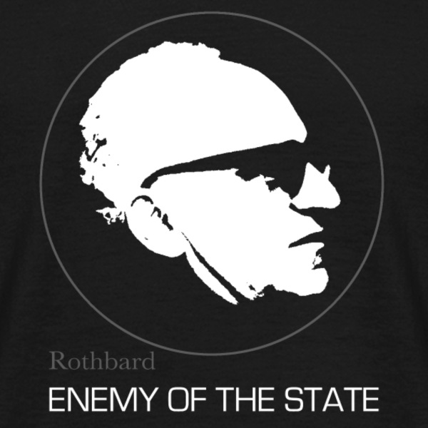 Murray Rothbard - Enemy of the State - Männer T-Shirt