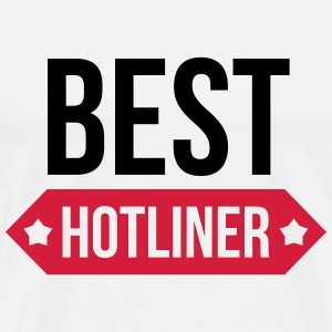 Hotliner / Hotline / Helpdesk / Hotlineuse / Phone Tee shirts - T-shirt Premium Homme