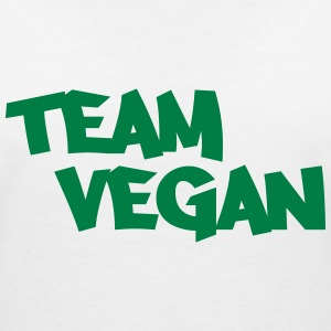Team Vegan T-Shirts - Women's V-Neck T-Shirt