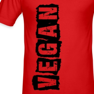 Vegan - Grunge Style T-Shirts - Männer Slim Fit T-Shirt