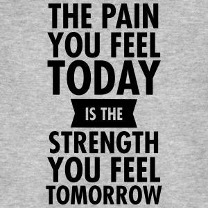 The Pain You Feel Today... T-shirts - Mannen Bio-T-shirt