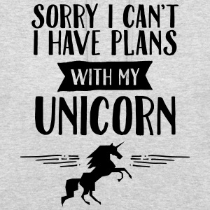 Sorry I Cant't - I Have Plans With My Unicorn Hoodies & Sweatshirts - Unisex Hoodie