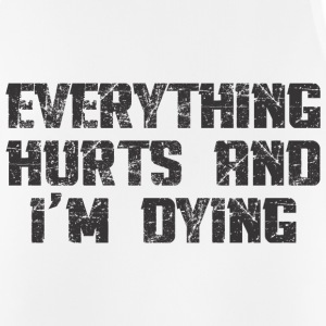 EVERYTHING HURTS AND I'M DYING Sports wear - Men's Breathable Tank Top