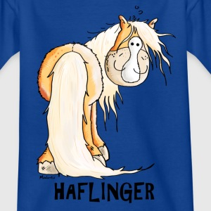 Glad Haflinger Skjorter - T-skjorte for barn