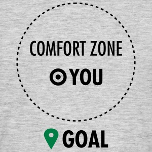 Step Out Of Your Comfort Zone T-skjorter - T-skjorte for menn