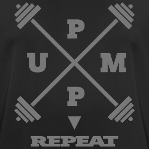 pump it up – repeat [ v2 ] - Männer T-Shirt atmungsaktiv