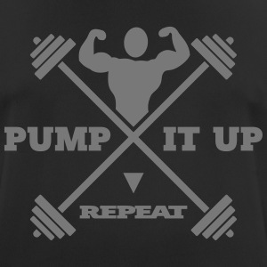 pump it up – repeat [ v3 ] - Männer T-Shirt atmungsaktiv