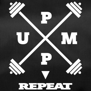 pump it up – repeat [ v2 ] - Sporttasche