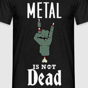 metal-zombie-ecriture-bla Tee shirts - T-shirt Homme