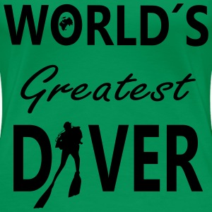 World´S Greatest Diver T-Shirts - Frauen Premium T-Shirt