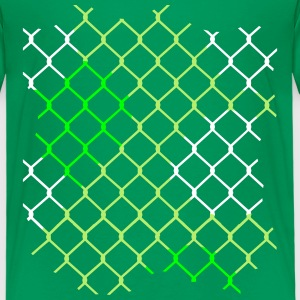 colorful chain-link fence Shirts - Kids' Premium T-Shirt