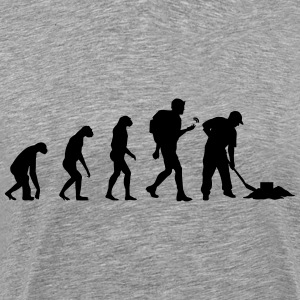 Geocaching Evolution T-Shirts - Männer Premium T-Shirt