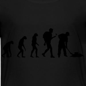 Geocaching Evolution T-shirts - Premium-T-shirt barn