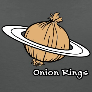 Onion Rings - The rings of onion planet T-Shirts - Women's V-Neck T-Shirt