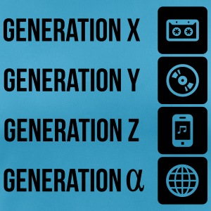 Generationen Kassette CD Internet T-Shirts - Frauen T-Shirt atmungsaktiv