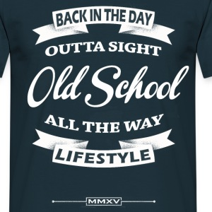 old school label T-Shirts - Men's T-Shirt