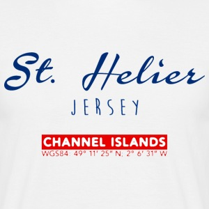 St. Helier, Channel Island T-Shirts - Men's T-Shirt