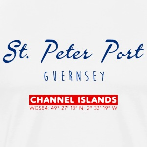 St. Peter Port, Guernsey T-Shirts - Men's Premium T-Shirt