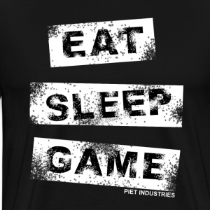Eat Sleep Game T-Shirt - Männer Premium T-Shirt