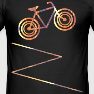 bike T-shirts - Slim Fit T-shirt herr