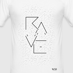 Rave - T-Shirt - Männer Slim Fit T-Shirt