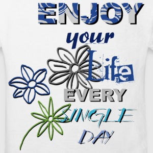 Enjoy your life - helle shirts T-Shirts - Kinder Bio-T-Shirt