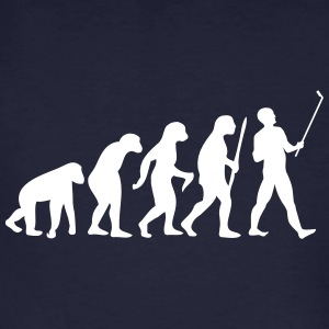 Evolution  Stick T-shirts - Mannen Bio-T-shirt