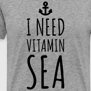 Vitamin Sea  T-shirts - Mannen Premium T-shirt