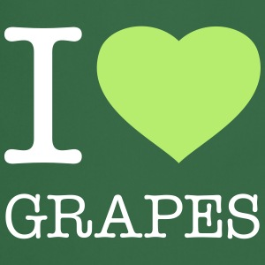 I LOVE GRAPES - Cooking Apron