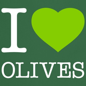 I LOVE OLIVES - Cooking Apron