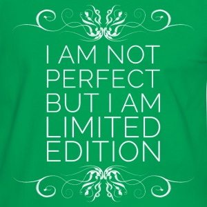 I Am Not Perfect But I'm Limited Edition (blanc) Tee shirts - T-shirt contraste Homme