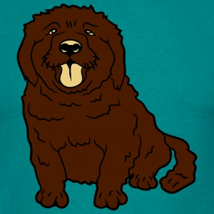 sweet little brown sitting dog T-Shirts - Men's T-Shirt