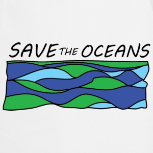 save the oceans  Aprons - Cooking Apron