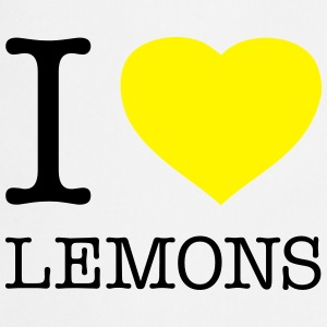 I LOVE LEMONS - Cooking Apron