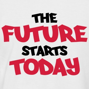 The future starts today Tee shirts - T-shirt baseball manches courtes Homme