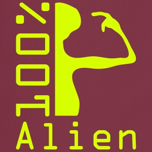 100 pc alien  Aprons - Cooking Apron