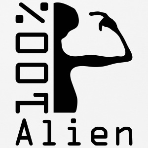 100 pc alien Other - Mouse Pad (horizontal)