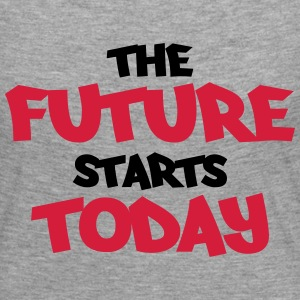 The future starts today Skjorter med lange armer - Premium langermet T-skjorte for kvinner