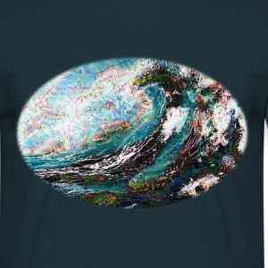 Creatures In The Waves - Männer T-Shirt