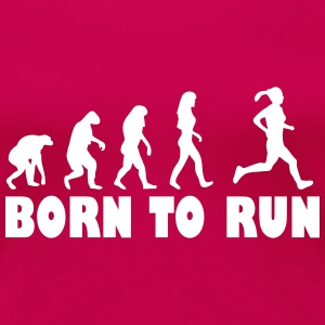 born to run frauen T-Shirts - Frauen Premium T-Shirt