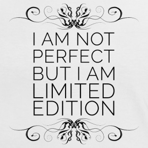 I Am Not Perfect But I'm Limited Edition Tee shirts - T-shirt contraste Femme